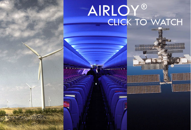 Airloy® Aerogels are Strong, Machinable, and 3 to 15x Lighter than Plastics
