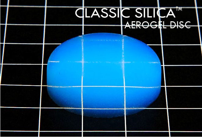 The famous blue aerogel now available to the masses