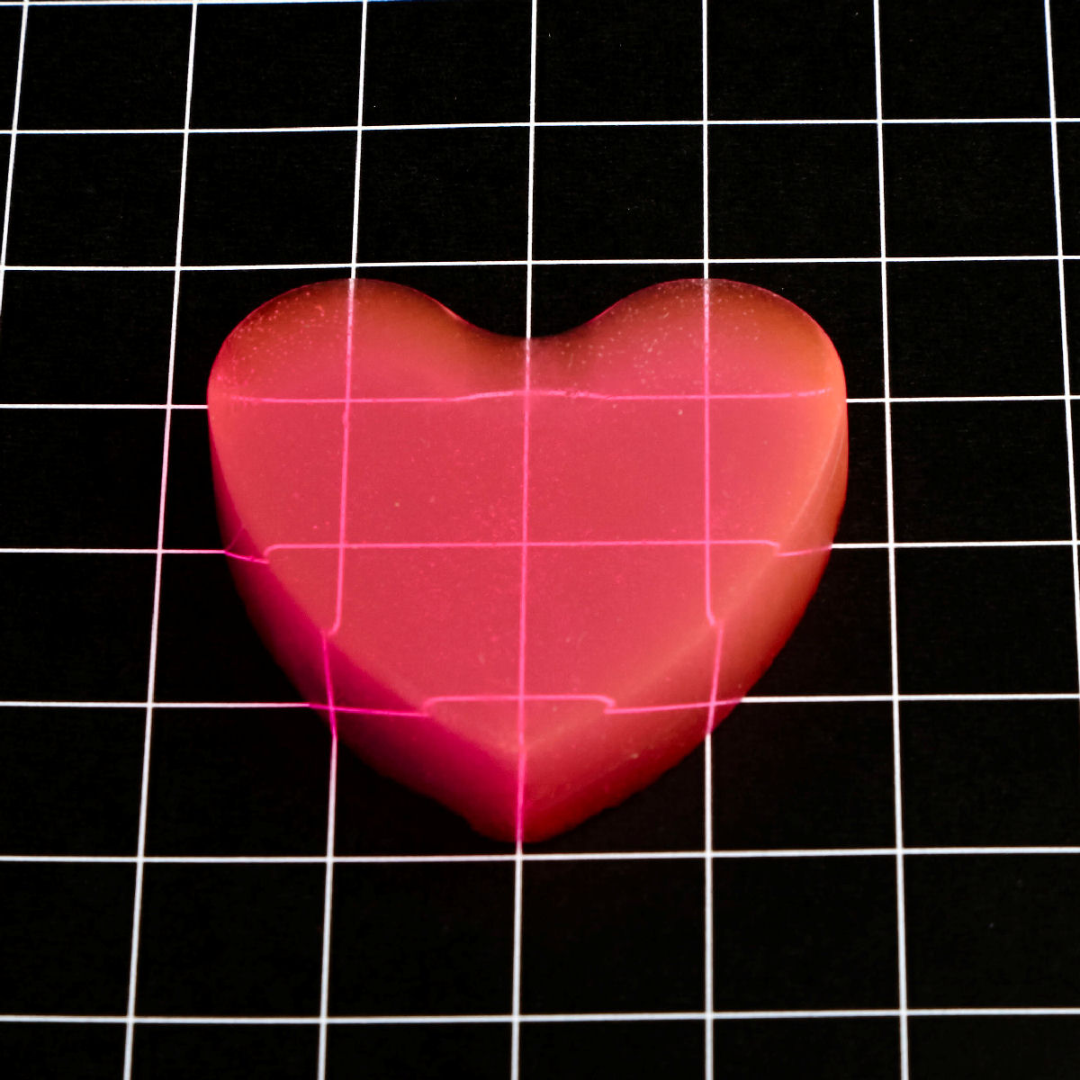 Heart-Shaped Valentine Aerogel™ from Aerogel Technologies
