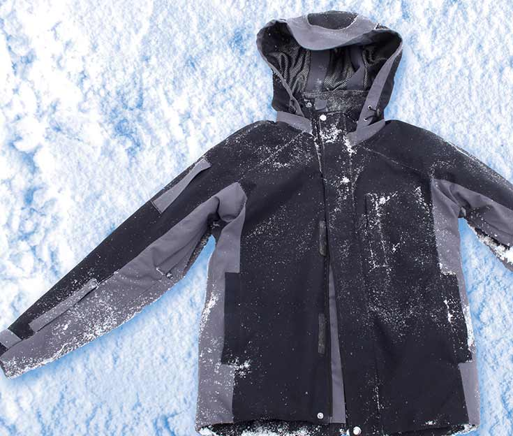 Ultrawarm, superthin Lukla aerogel jackets from OROS Apparel keep you warm in rain or snow.